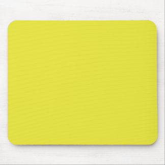 Background Color - Sun Yellow Mousepads