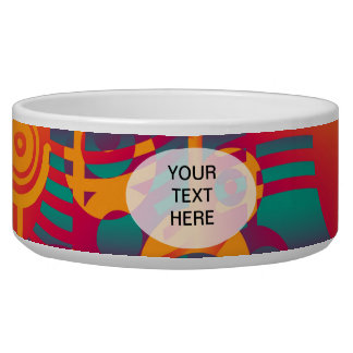 Background Composing - Modern Colorful Circle Bowl