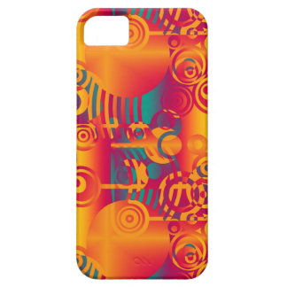 Background Composing - Modern Colorful Circle iPhone SE/5/5s Case