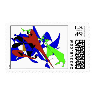 Background design stamp