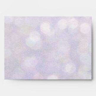 Background - Lavender Bokeh Lights Envelope