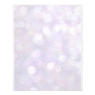 Background - Lavender Bokeh Lights Flyer