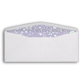 Background - Lavender Glitter Stars Envelope