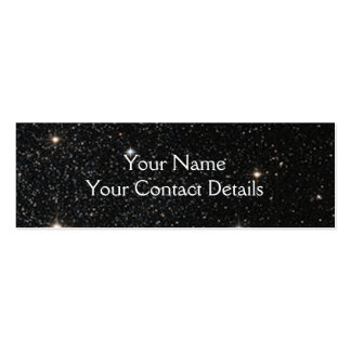 Background - Night Sky & Stars Double-Sided Mini Business Cards (Pack Of 20)