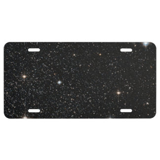 Background - Night Sky & Stars License Plate
