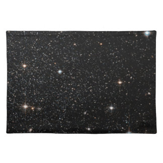 Background - Night Sky & Stars Cloth Placemat