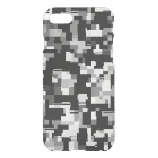 Background Noise in Black & White iPhone 8/7 Case
