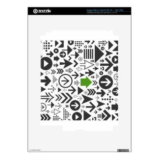 Background of arrows8 iPad 3 skin