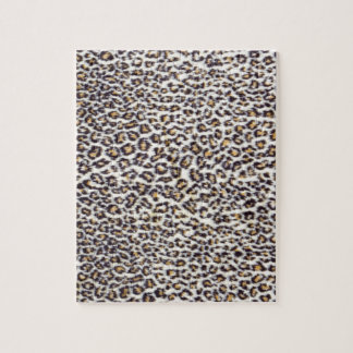 Background of black brown spotted animal fur jigsaw puzzle