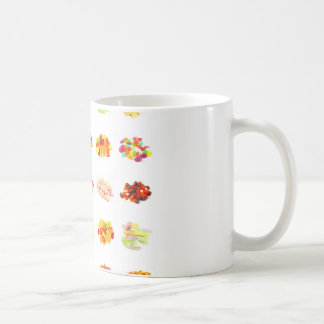 Background of Colorful Candy of Assorted Types Coffee Mug