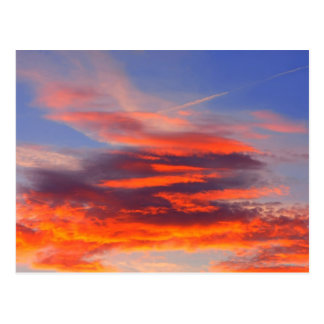 Background of colourful sky. post cards