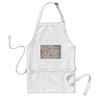 Background of daisy flowers adult apron