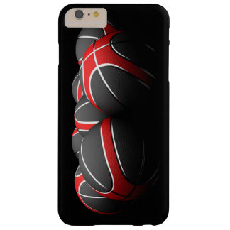background of modern basketball balls funda de iPhone 6 plus barely there