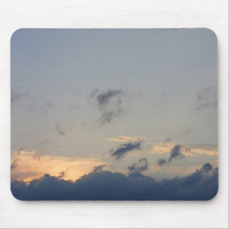 Background of sky with thunderclouds. mouse pad