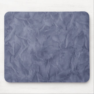 Background PAPER TEXTURE - dirty blue Mouse Pad