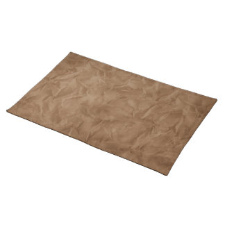Background PAPER TEXTURE - dirty brown Placemat