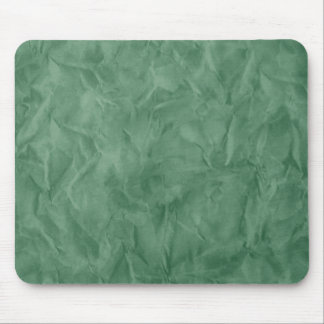 Background PAPER TEXTURE - dirty green Mouse Pad