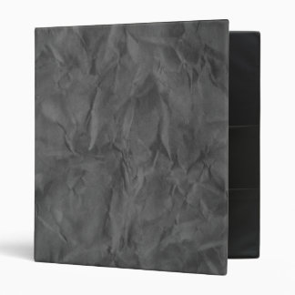 Background PAPER TEXTURE - dirty grey 3 Ring Binder