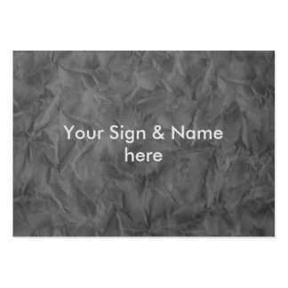 Background PAPER TEXTURE - dirty grey Large Business Cards (Pack Of 100)