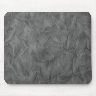 Background PAPER TEXTURE - dirty grey Mouse Pad
