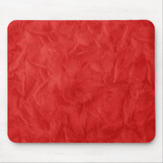 Background PAPER TEXTURE - dirty red Mouse Pads