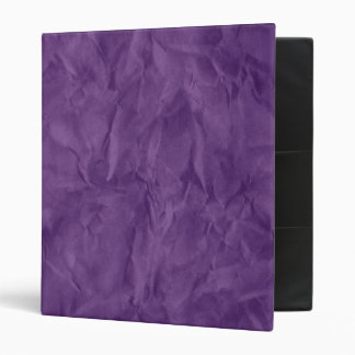 Background PAPER TEXTURE - dirty violet 3 Ring Binder