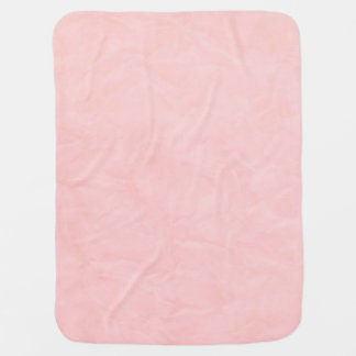 Background PAPER TEXTURE - light pink Baby Blanket