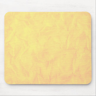 Background PAPER TEXTURE - yellow Mouse Pad