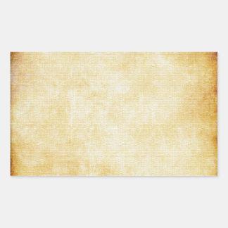 Background | Parchment Paper Rectangular Sticker