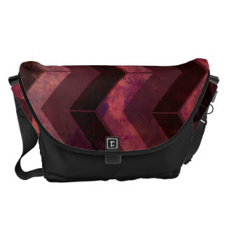 Background Pattern Courier Bag