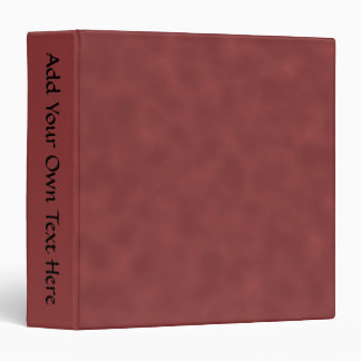 Background Pattern in Shades of Dark Red. 3 Ring Binder