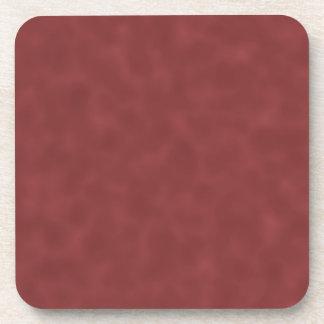 Background Pattern in Shades of Dark Red. Coaster
