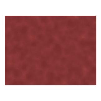 Background Pattern in Shades of Dark Red. Postcard