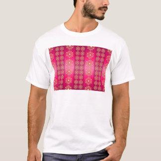 background pattern pink wallpaper T-Shirt