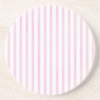 Background Pink Watercolor Stripes Coaster