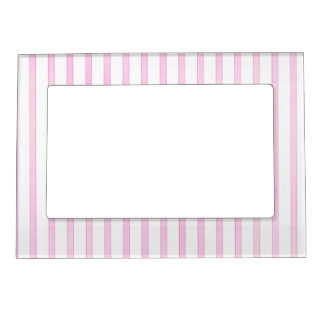 Background Pink Watercolor Stripes Magnetic Frame