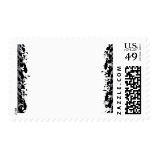 background postage stamp