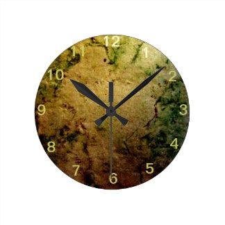 Background Round Clock