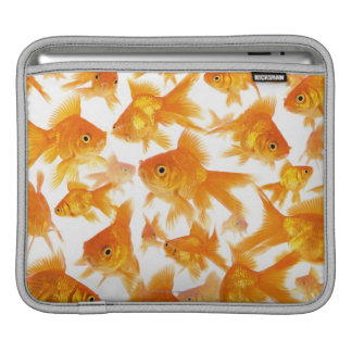 Background Showing a Large Group of Goldfish Sleeve For iPads