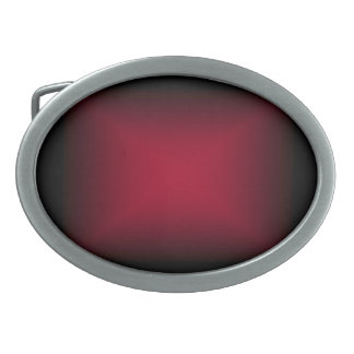 Background Template ~ Black Frame ~ Maroon Center Oval Belt Buckle