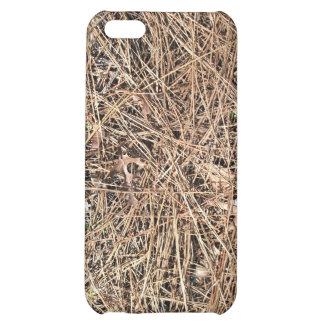 Background Texture of Dry Pine Leaves iPhone 5C Cover