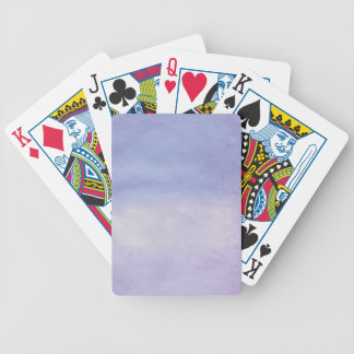 Background- Texture Watercolor Paper 2 Bicycle Playing Cards
