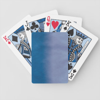Background- Texture Watercolor Paper 3 Bicycle Playing Cards
