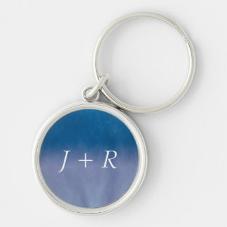 Background- Texture Watercolor Paper 3 Keychain