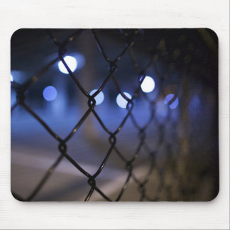 Background Themed, A Picture Of An Iron Fence With Mouse Pad