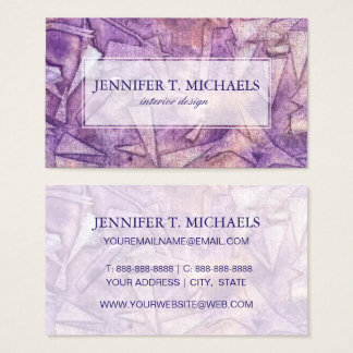 background watercolor business card