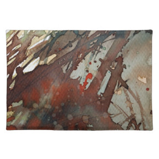 background watercolor placemats