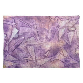background watercolor placemat