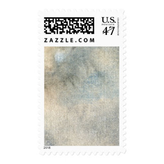 background watercolor postage stamp