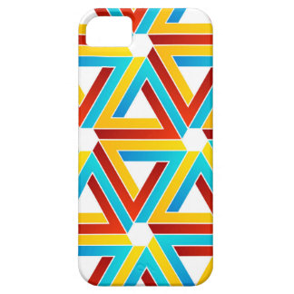 Background with Pen rose triangles iPhone 5 Cases